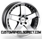 Cragar Wheels SS Series 612 2pc Aluminum Polished Finish Vintage RWD