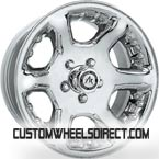 Cragar Wheels SS Series 613 2pc Custom Grey FWD Luxury/Passenger Car