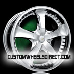 CWI Volkswagen wheels Chrome Solid Chrome FWD Luxury/Passenger Car