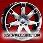 Diablo Wheels Rage Chrome with Black Inserts RWD Truck/SUV