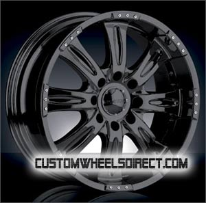 Diablo Wheels Maximus Tirado with Custom Color Inserts Chrome RWD Truck/SUV