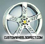 DUB Wheels Bomber 6 Chrome RWD Truck/SUV