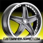 DUB Wheels Baller S116 Black/Machined RWD Truck/SUV