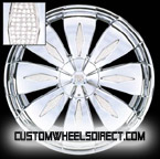 Foose Wheels Knight F220 Polished Finish FWD Luxury/Passenger Car