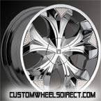 Foose Wheels Monterey F203 Polished Finish RWD Truck/SUV