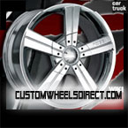 Forgiato Wheels Andata Chrome FWD Luxury/Passenger Car