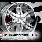 Forgiato Wheels Andata Chrome RWD Truck/SUV