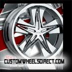 Forgiato Wheels Andata Chrome 8-lug