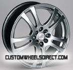 Forgiato Wheels Disegno Chrome 8-lug