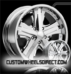 Forgiato Wheels Piastra Chrome FWD Luxury/Passenger Car