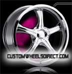 Forgiato Wheels Tello Chrome RWD Truck/SUV