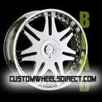 Fuel Offroad Wheels Hostage D530 Chrome RWD Truck/SUV