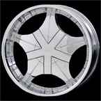 Fuel Offroad Wheels Hostage D530 Deep Chrome 8-lug