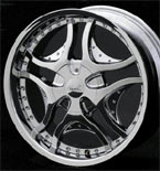 Fuel Offroad Wheels Maverick D261 Machined Face Black/Machined RWD Truck/SUV