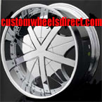 Fuel Offroad Wheels Pump D514 Chrome 8-lug