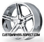 Fuel Offroad Wheels Frontier D545 Black/Machined RWD Truck/SUV