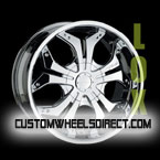 Fuel Offroad Wheels Full Blown D254 Black RWD Truck/SUV