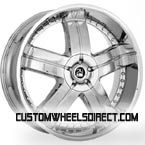 Intro Wheels Salster Polished Finish FWD Luxury/Passenger Car