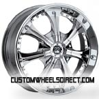 Intro Wheels Salster Polished Finish RWD Truck/SUV