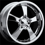 Intro Wheels Concave Vintage Polished Finish FWD Luxury/Passenger Car