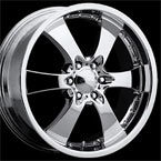 Intro Wheels Concave Vintage Polished Finish RWD Truck/SUV