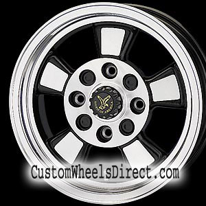 KMC Wheels Addict XD798 Machined Face Black/Machined 8-lug