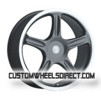 Ultra Wheels Type 404 Arctic Silver FWD Luxury/Passenger Car