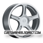 Ultra Wheels Type 417 Monarch Black FWD Luxury/Passenger Car