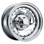 Victor Equipment Wheels Tourismo Black with Polished Lip FWD Luxury/Passenger Car